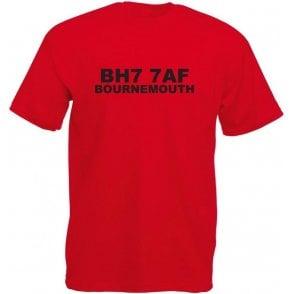 BH7 7AF Bournemouth T-Shirt (Bournemouth)