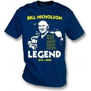 Bill Nicholson - Tribute t-shirt