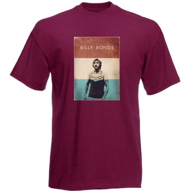 Billy Bonds (1976) Vintage Poster T-Shirt