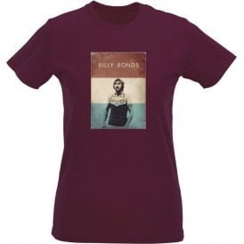 Billy Bonds (1976) Vintage Poster Womens Slim Fit T-Shirt