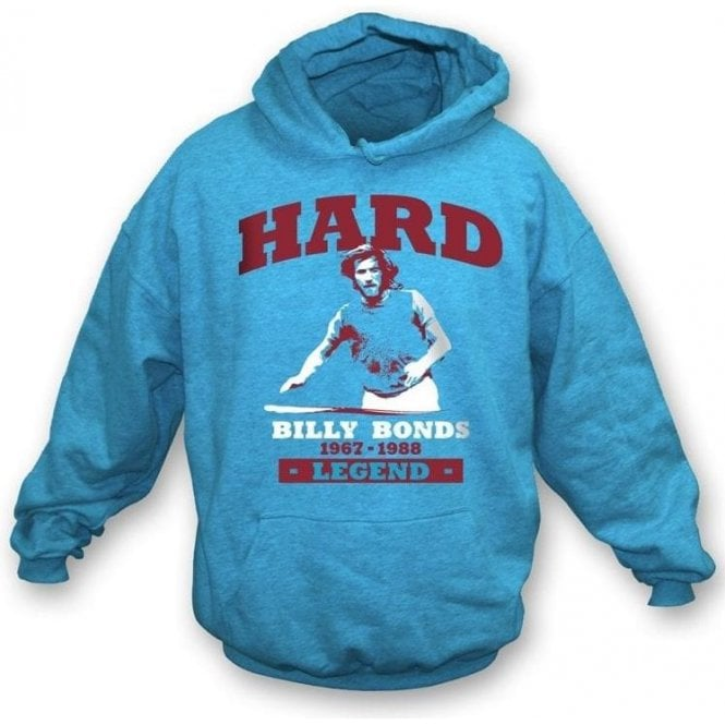 Billy Bonds - Hard hooded sweatshirt