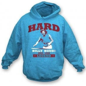 Billy Bonds - Hard hooded sweatshirt