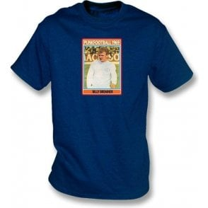 Billy Bremner 1969 (Leeds United) Navy T-Shirt