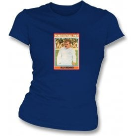 Billy Bremner 1969 (Leeds United) Navy Women's Slimfit T-Shirt