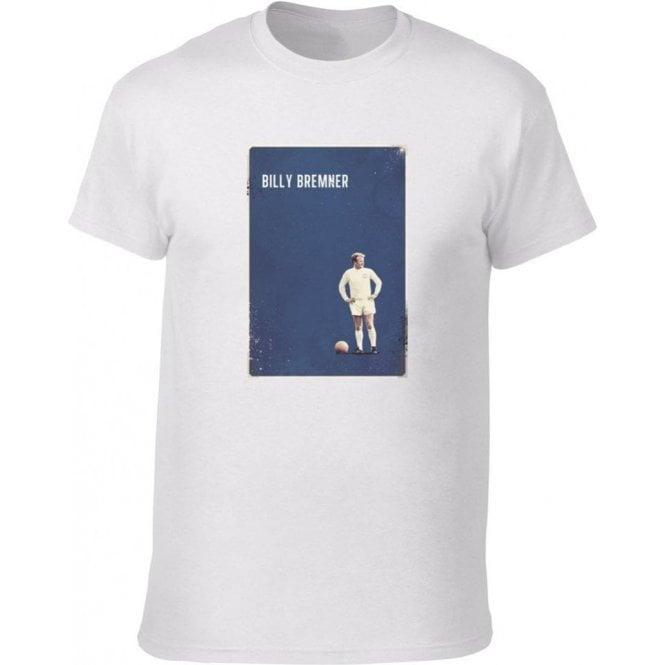 Billy Bremner (Leeds) Vintage Poster Vintage Wash T-Shirt