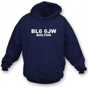 BL6 6JW Bolton Hooded Sweatshirt (Bolton)