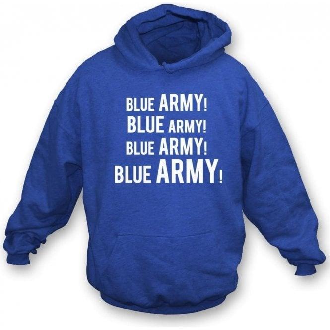 Blue Army! Kids Hooded Sweatshirt (Ipswich Town)