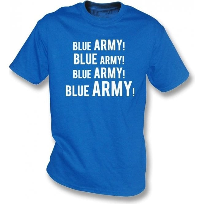 Blue Army! Kids T-Shirt (Ipswich Town)