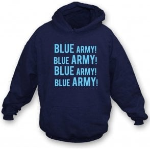 Blue Army! (Wycombe Wanderers) Hooded Sweatshirt