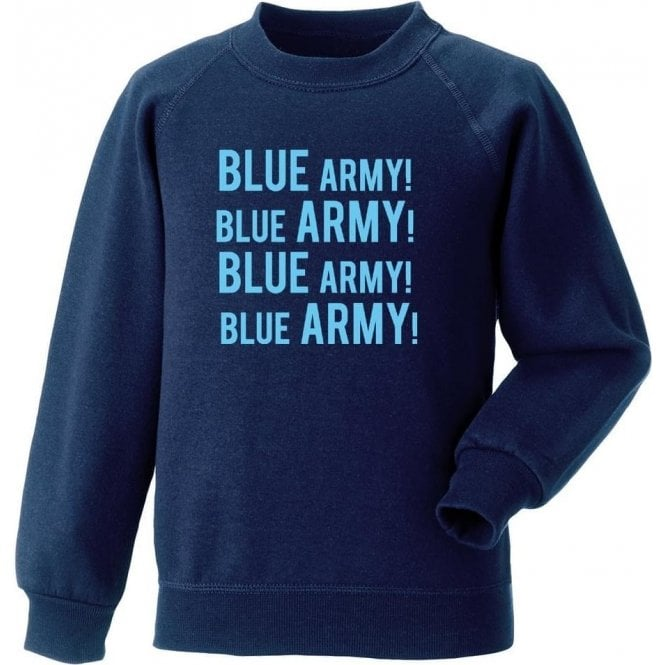 Blue Army! (Wycombe Wanderers) Sweatshirt