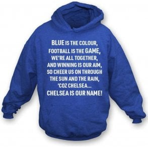 Blue Is The Colour (Chelsea) Hooded Sweatshirt