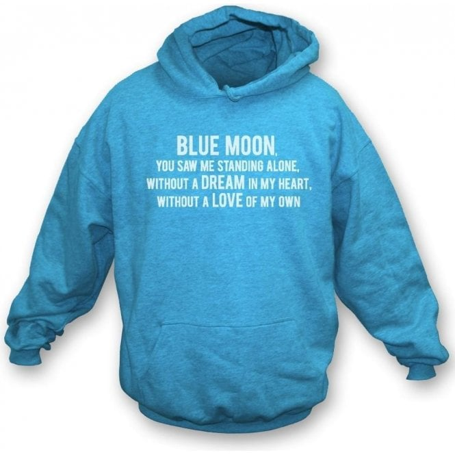 Blue Moon Kids Hooded Sweatshirt (Manchester City)