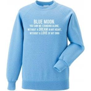 Blue Moon Sweatshirt (Manchester City)