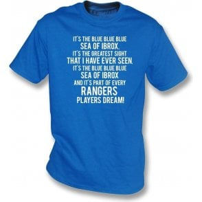 Blue Sea Of Ibrox (Rangers) Kids T-Shirt