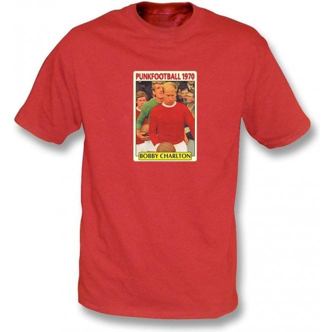 Bobby Charlton 1970 (Man United) Red T-Shirt