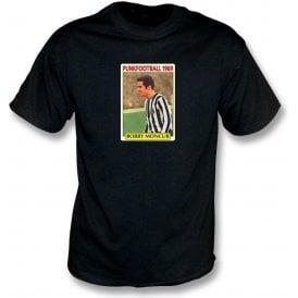 Bobby Moncur 1969 (Newcastle United) Black T-Shirt
