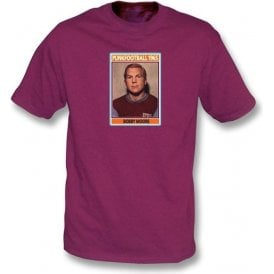 Bobby Moore 1965 (West Ham) Maroon T-Shirt