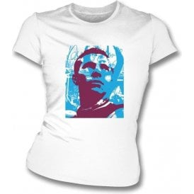 Bobby Moore Collage Women's Slimfit T-Shirt