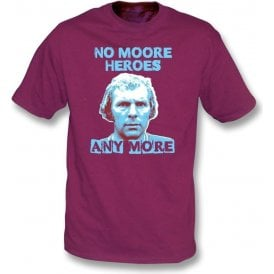 Bobby Moore - No Moore Heroes Kids T-Shirt