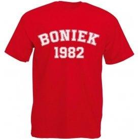 Boniek 1982 (Poland) Kids T-Shirt