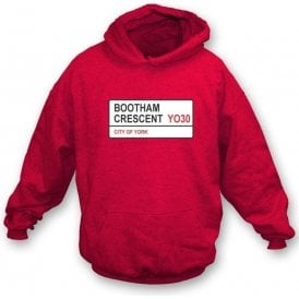 Bootham Crescent YO30 Hooded Sweatshirt (York City)