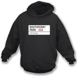 Boothferry Park HU4 (Hull City) Hooded Sweatshirt