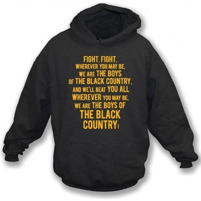 Boys Of The Black Country Kids Hooded Sweatshirt (Wolverhampton Wanderers)