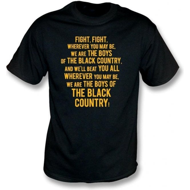 Boys Of The Black Country Kids T-Shirt (Wolverhampton Wanderers)