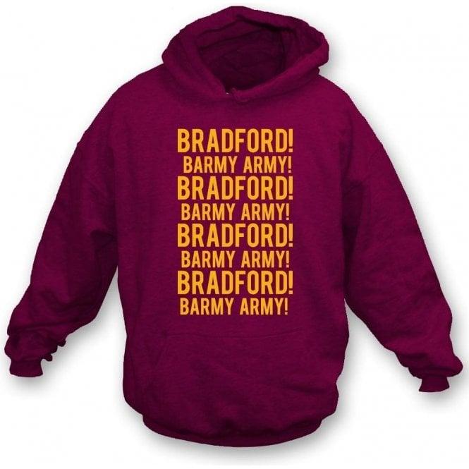 Bradford Barmy Army Kids Hooded Sweatshirt