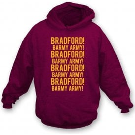 Bradford Barmy Army Kids Hooded Sweatshirt