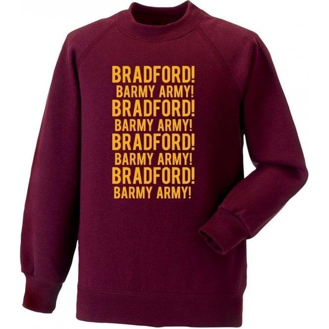Bradford Barmy Army Sweatshirt