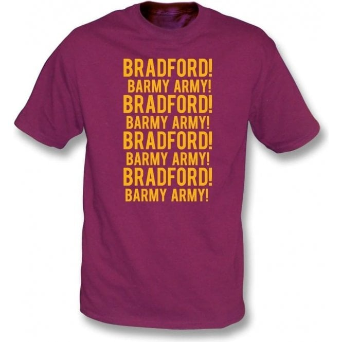 Bradford Barmy Army T-Shirt