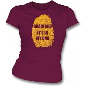Bradford - It's In My DNA Womens Slim Fit T-Shirt
