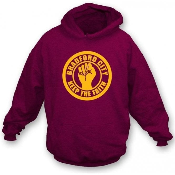 Bradford Keep the Faith Hooded Sweatshirt