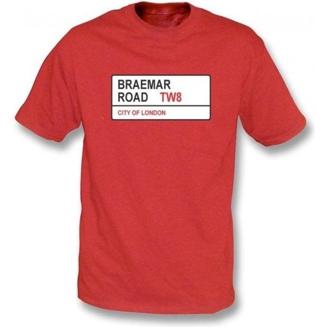 Braemar Road TW8 T-Shirt (Brentford)