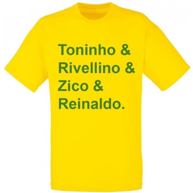 Brazil World Cup 1978 Kids T-Shirt