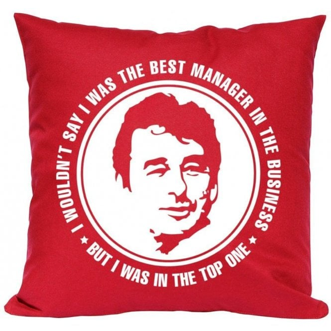 Brian Clough - The Best Manager (Nottingham Forest) Cushion