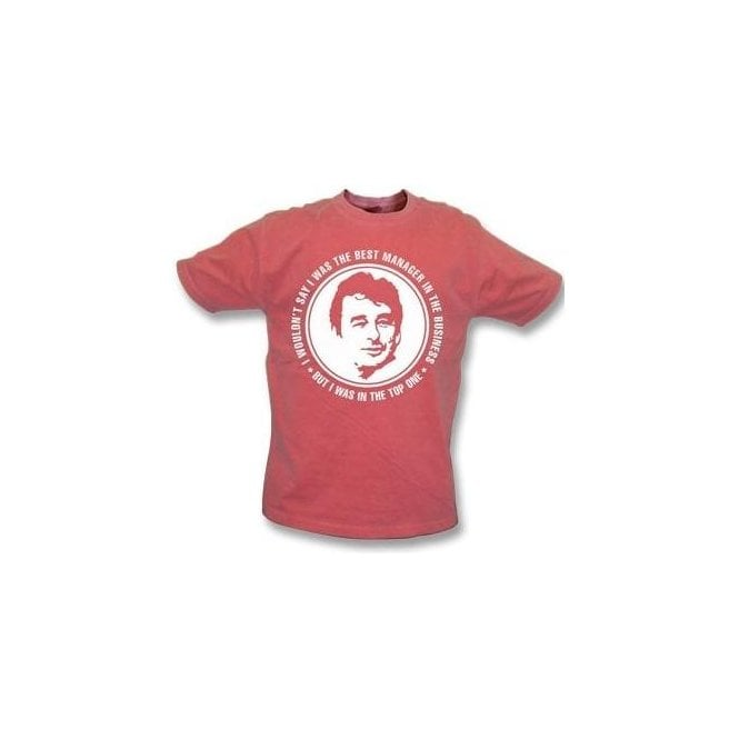 e8d8fc251 Brian Clough - The Best Manager (Nottingham Forest) Vintage Wash T-Shirt -  from Punk Football UK
