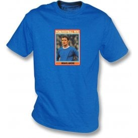 Brian Labone 1970 (Everton) Royal Blue T-Shirt