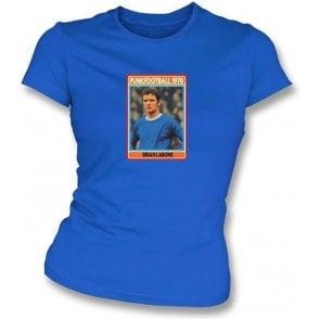 Brian Labone 1970 (Everton) Royal Blue Women's Slimfit T-Shirt