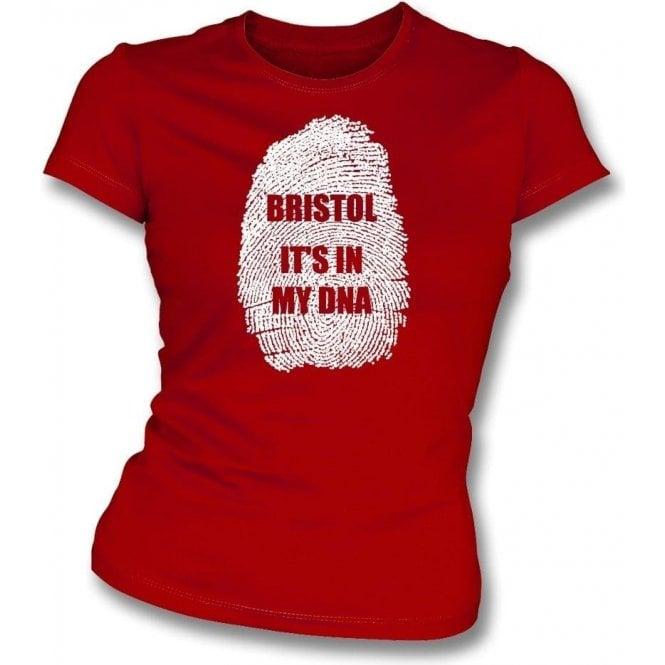 Bristol - It's In My DNA (Bristol City) Womens Slim Fit T-Shirt