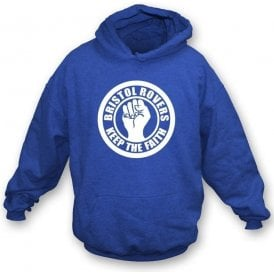 Bristol Rovers Keep the Faith Hooded Sweatshirt