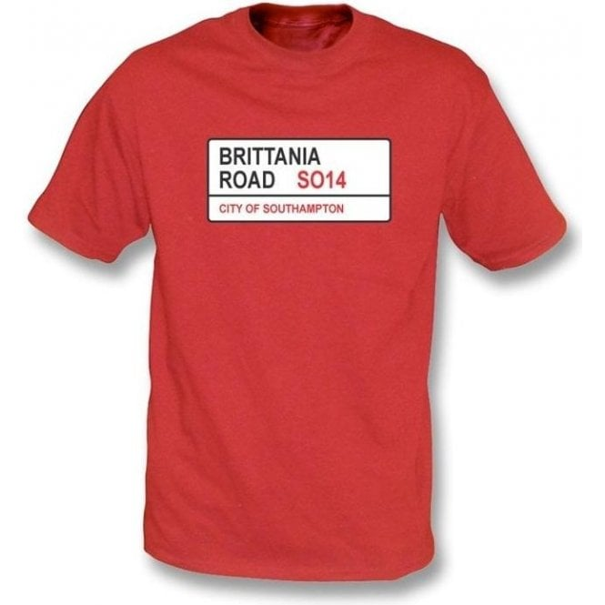 Brittania Road SO14 Kids T-Shirt (Southampton)