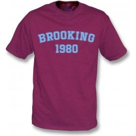 Brooking 1980 (West Ham) T-Shirt