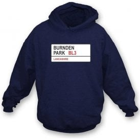 Burnden Park BL3 (Bolton) Hooded Sweatshirt