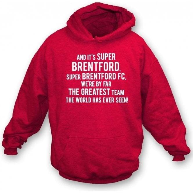 By Far The Greatest Team Kids Hooded Sweatshirt (Brentford)