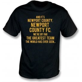 By Far The Greatest Team (Newport County) Kids T-Shirt