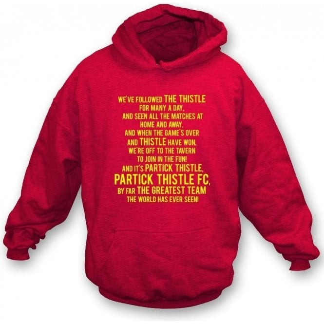 By Far The Greatest Team (Partick Thistle) Kids Hooded Sweatshirt