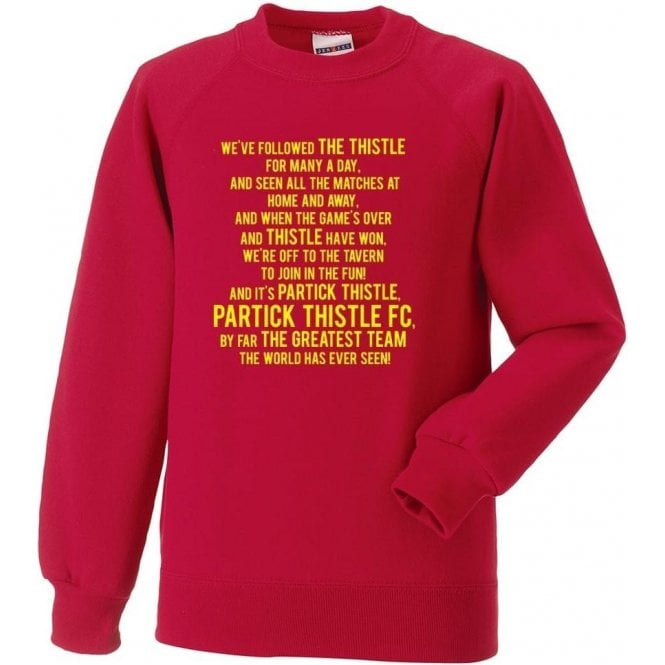 By Far The Greatest Team (Partick Thistle) Sweatshirt