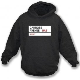 Camrose Avenue HA8 Hooded Sweatshirt (Barnet)